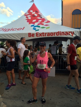 I conquered the Cayman Islands Half Marathon, Dec 2014