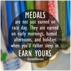 Earn your medal