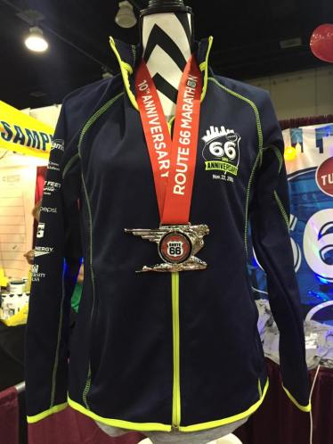 Premium and bling from the 10th anniversary Tulsa Route 66 Marathon this November.