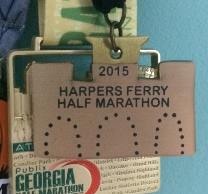 Harpers Ferry half medal