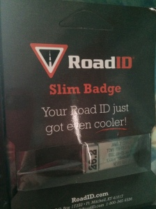 I'm looking forward to adding this 26.2 badge to my Road ID band!