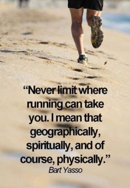 Where running takes you
