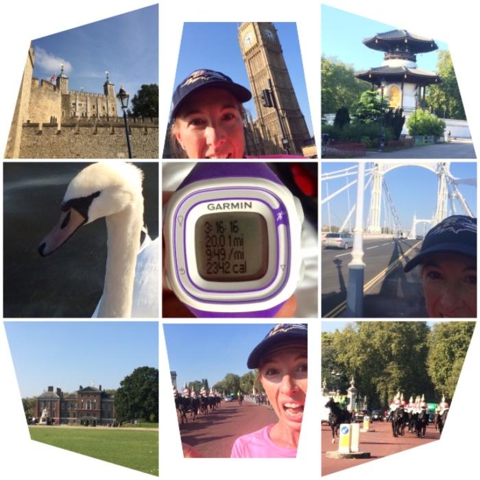 20 mile run montage
