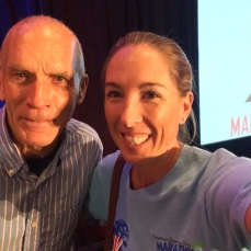 Selfie with Bart Yasso, Marine Corps Marathon, October 2015