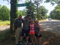Mile 9: Meg Menzies, her family and all those who are a part of MegsMiles