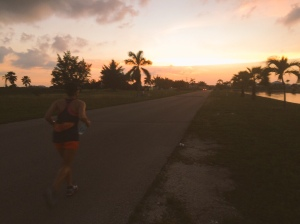 Beautiful sunset on my Saturday long run. The only good thing about that run!