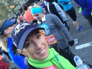 Ready to start the 2015 Richmond American Family Fitness Half Marathon!