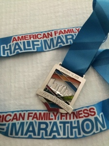 Half Marathon Finisher's Medal
