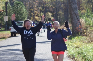 Memorial Run with April 3