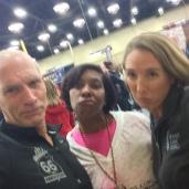 Bart Yasso being sassy at the Tulsa Route 66 Marathon expo, November 2015
