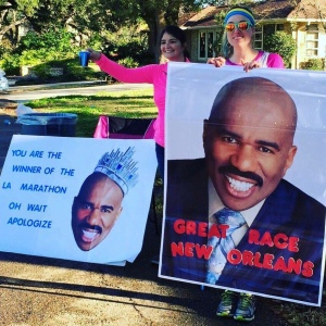 Many thanks to Steve Harvey, who inspired my favourite signs on the course.