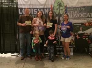 Packet pick up, and we are all ready to run!