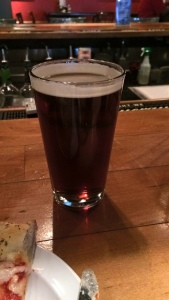 Amber Ale was a perfect post-race treat.