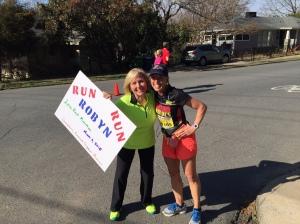 Ruth and Robyn at around 14.5 mi