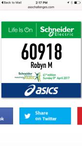 Another maraton