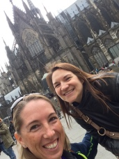 Koln Cathedral on a very chilly day