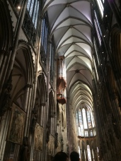 Inside the Koln Cathedral