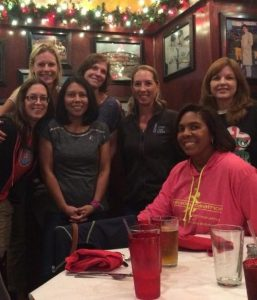 MegsMilers meet up the night before the race!