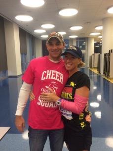 My wonderful husband who supports me. (Chicago Marathon 2016)