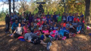 Friday's shakeout run at Meg's memorial.