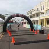 Finishing the Bermuda Marathon (04:39:49)