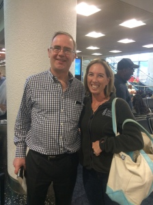 I met the governor of Bermuda in the Miami airport.