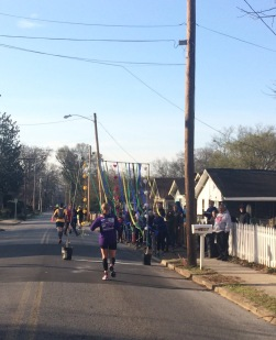 Neighborhood fun around mile 4