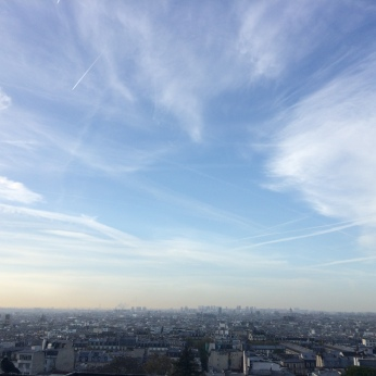 View of Paris from the Basilique Sacre Coeur