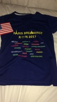 Breakfast Run shirt - all participants had to wear it