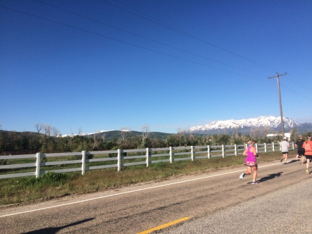 Ogden Marathon was a beautiful day