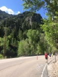 Downhill portion into Ogden