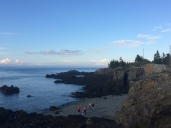 The path to the East Quoddy Head Lighthouse