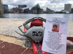 The Baltimore Marathon 2018 - in memory of my mom and in honour of Devin